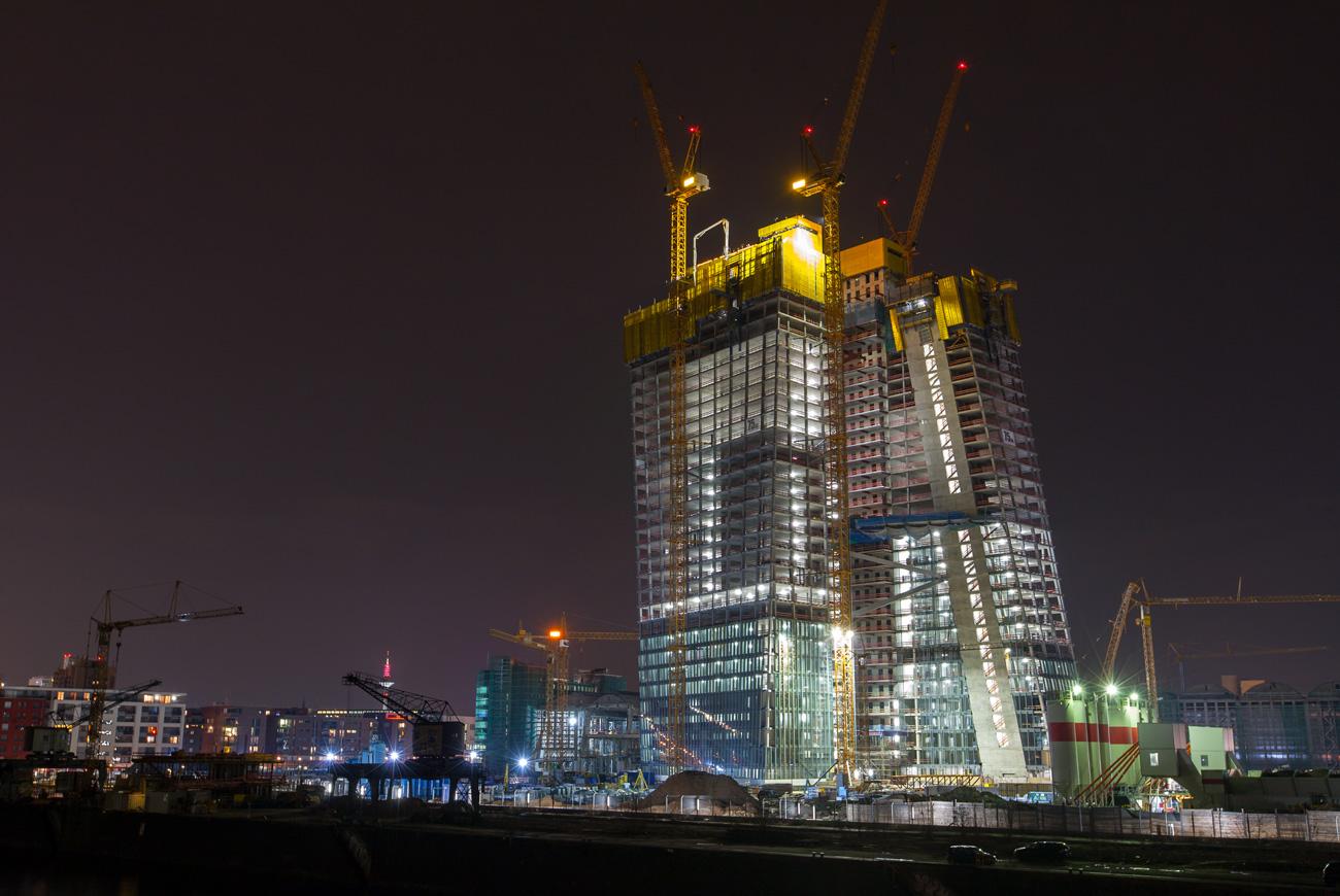 Aufnahme SEB Bank bei Nacht - dc photodesign
